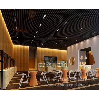 圖書館鋁格柵天花-酒店專用格子鋁天花-廣州歐佰天花專業制造
