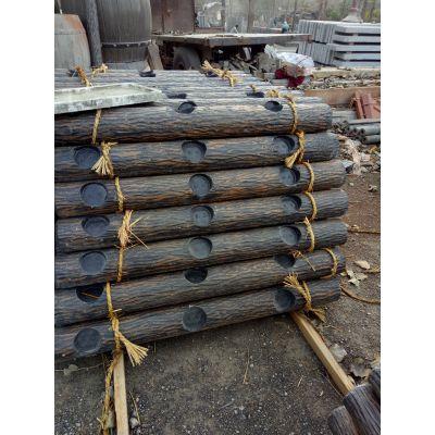 江苏水泥仿木栏杆 混凝土仿木护栏使用寿命长