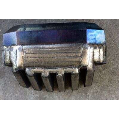 锤片耐磨喷焊 锤头合金喷焊 锤片齿头耐磨强化