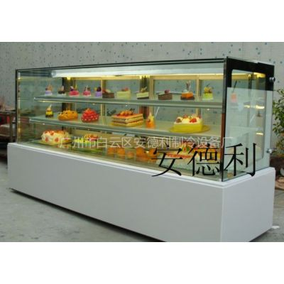 供应安德利玻璃拼角直角蛋糕展示柜(B2)
