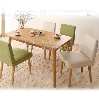 专业定做 简约现代风格实木软包餐椅 火锅餐椅 面馆桌椅倍斯特家具定做批发