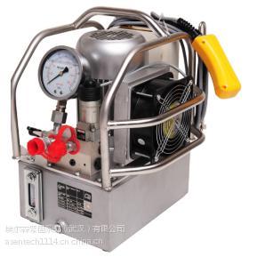 适配德国进口液压扳手用什么泵站?【德国AS】EP-X3电动液压泵|三级泵