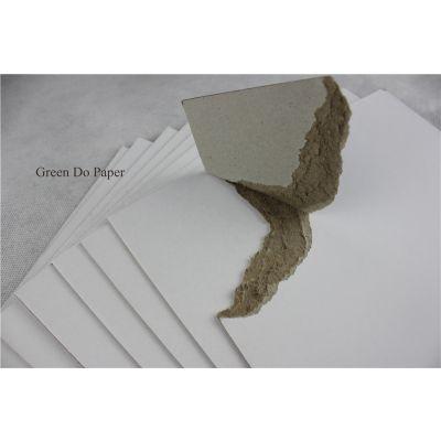 厂家直销高厚度涂布 灰底白板纸
