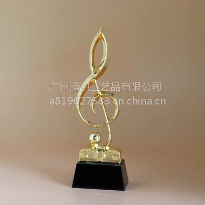烟台水晶奖杯 校园歌手大赛奖杯定做 烟台奖品批发厂家腾洪工艺