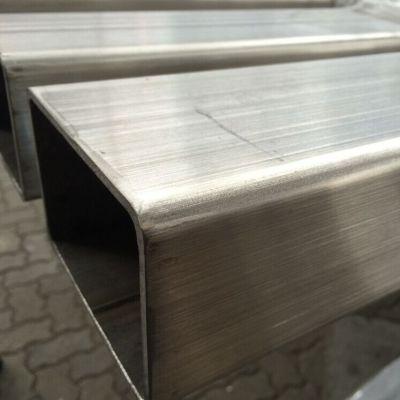 国标316L不锈钢方矩管价格,美标拉丝不锈钢方通