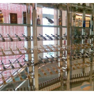 佛山专业不锈钢酒柜生产厂家 来图加工 款式客户自定 价格合理 欢迎订购