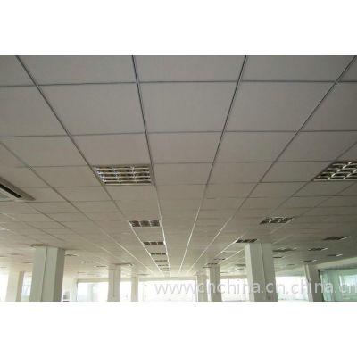 国标0.8厚600x600铝扣板|白色冲孔铝扣板天花厂家