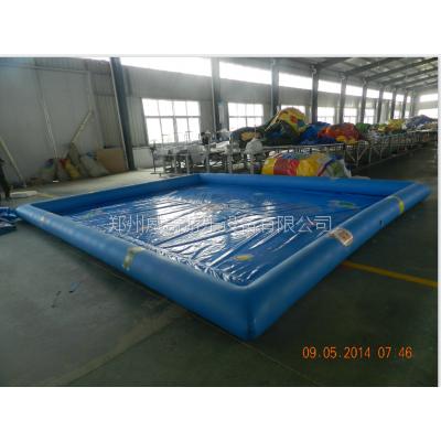 大型PVC充气水池、游泳池生产厂家、儿童充气游泳池大小可以定做