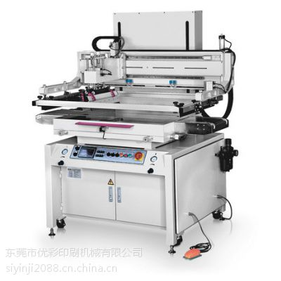 伺服丝印机5070电动丝印机双伺服丝网印刷机