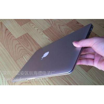 苹果笔记本电脑 13.3寸 1:1 金属刀锋 酷睿 I5 高清屏 2G/ 64G背光键盘