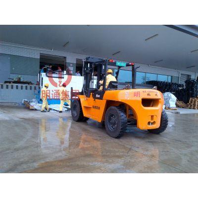进口精密机床搬运 - 广州明通专业的设备搬运