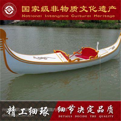 山东哪定做出售优质贡多拉游船 影视摄影高档工艺船道具