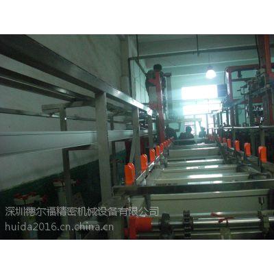 供应深圳德尔福电镀设备单臂式浸镀自动生产线