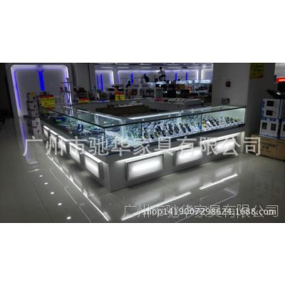 批发供应 精品玻璃展柜 珠宝柜台 手机展柜定做