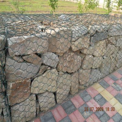 沈阳格宾网 护坡菱形网 河道护坡高尔凡石笼网