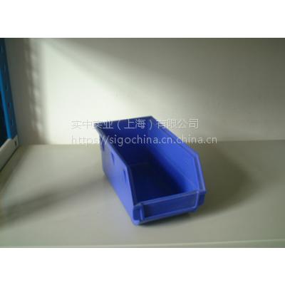 FM背挂式零件盒(蓝色)HDPE料百叶挂板标配物料整理架配