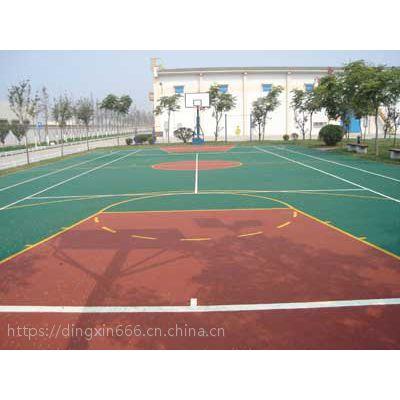天津塑胶篮球场;天津塑胶篮球场施工;天津塑胶篮球场施工方案