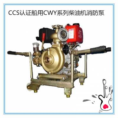船用消防泵65CWY-40 船用应急消防泵CCS证书