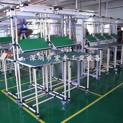 长期供应hongfeng线棒工作台 观澜精益管工作台 平湖柔性管工作台