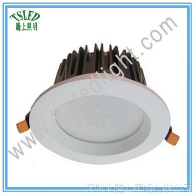 厂家销售IP65防水防雾led筒灯 6寸24W嵌入式天花筒灯 工程厨卫灯