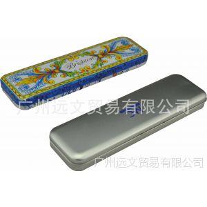 厂家大量供应马口铁文具盒 韩版铁笔盒 各类文具铁罐