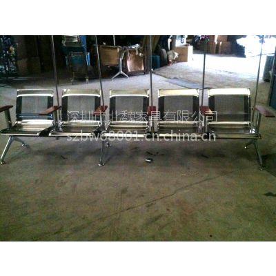 5人位不锈钢输液椅