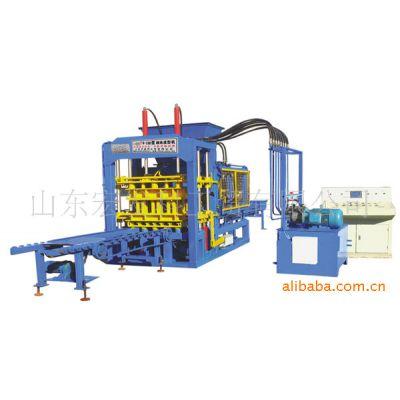 山东宏发供应QT6-15B型液压全自动 砌块成型机 免烧砖机
