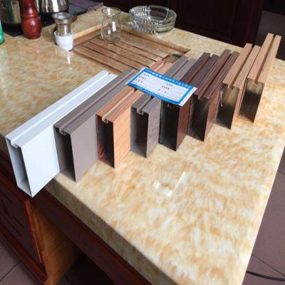 【木纹铝方管】现货_尺寸规格齐全_厂家