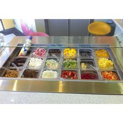 佛山冷热汤池图片/冷热汤池价格/甜品店制冷设备制造商