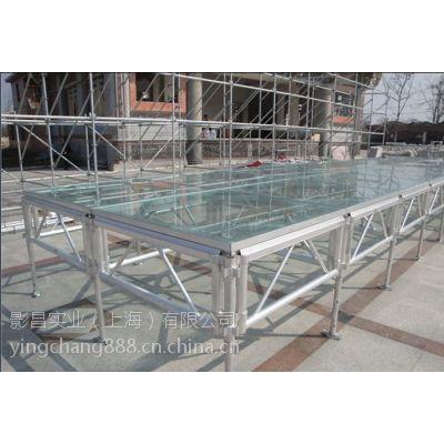 上海婚礼玻璃舞台租赁公司 松江玻璃舞台租赁