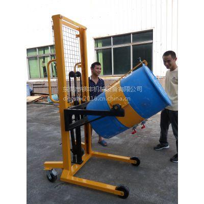 广州手动多功能油桶车 油桶升高、倒料、搬运 DA400A