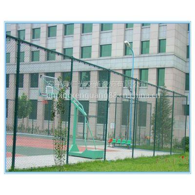 仁光专业生产Q235浸塑体育场围栏