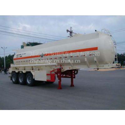 河南硫酸罐 化工罐车 腐蚀性物品罐式运输半挂车-硫酸罐厂家价格