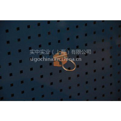 厂家特供信高金属电镀钢质吊钩方孔挂板用工具挂钩圆挂钩 圆形挂钩DFG-1601
