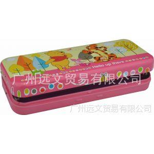 供应马口铁多层文具盒 铁笔盒 铅笔盒马口铁 多层马口铁盒 文具盒