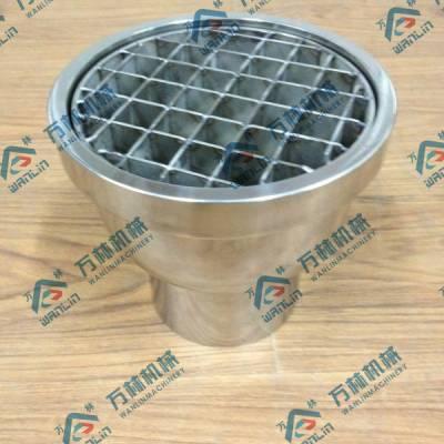 不锈钢网框地漏,卫生级网框地漏厂家批发