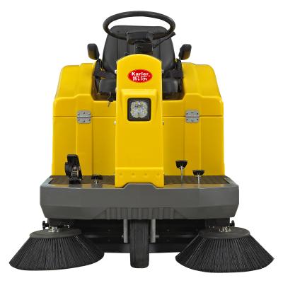 工厂道路清扫车 树叶灰尘石子扫地机 驾驶式扫地车厂家直销