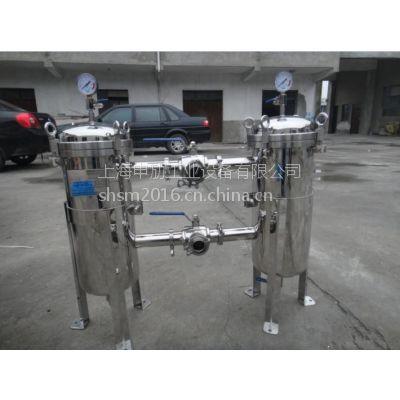 供应上海申劢袋式过滤器,串联袋式过滤器