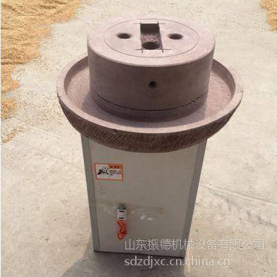 花生芝麻酱加工设备石磨机 电动石磨豆浆机 振德牌
