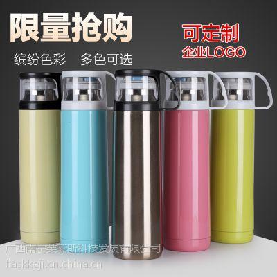 透明盖子弹头不锈钢保温杯 企业定制促销礼品杯 活动礼品水杯
