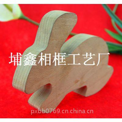 【木质工艺】埔鑫来样订制各式工艺品 动物造型 小兔子