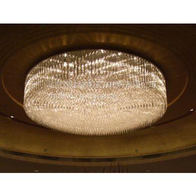 北京中元之光定制酒店工程水晶灯 商场别墅吊灯 客厅包房吸顶灯