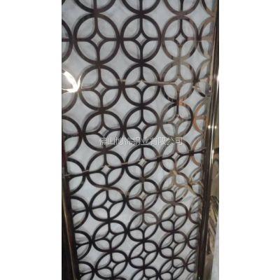 供应台山市201不锈钢屏风厂家价格 不锈钢酒店专用屏风销售
