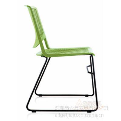 供应深圳众晟家具ZS-D919塑料多功能学习椅