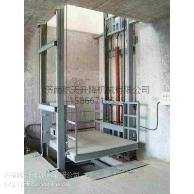 廠家供應單缸雙跨導軌式升降機|升降貨梯可定制
