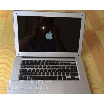 四核13.3寸苹果笔记本电脑 酷睿 i3 铝合金全金属刀锋 2G 64G背光键盘