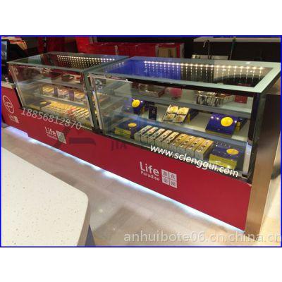 朔州直角蛋糕柜 后开门直角蛋糕柜 日式蛋糕保鲜柜