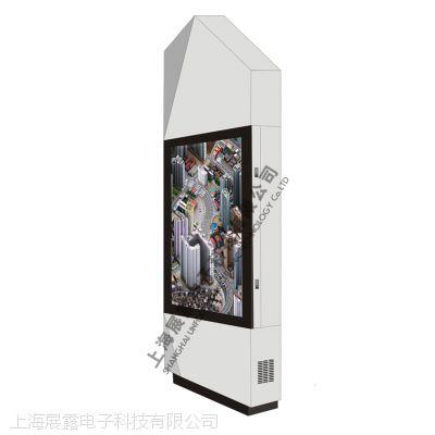 上海展露提供时尚款户外高亮广告机65寸(H650)