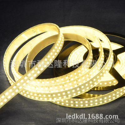 厂家供应3528双排灯条LED软灯条 单色装饰灯带 现货供应