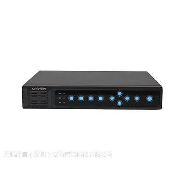 uniview宇视16路网络硬盘录像机NVR202-16EN-DT合肥综合布线安徽监控安装公司